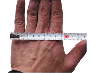 Glovemeasurements